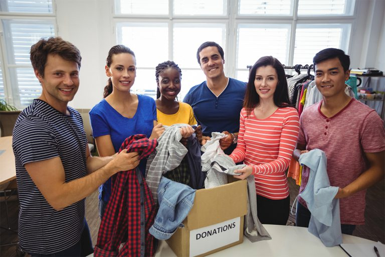 Providing Cloths For Neglected Children